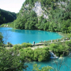NATIONAL PARK PLITVICE LAKES - SURROUNDED BY BEAUTY